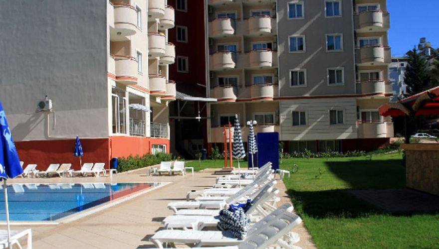 Widok na Banana Beach & Family Suite