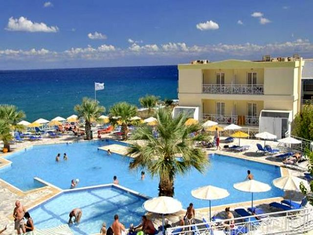 hotel eri beach village w hersonissos kreta grecja. Black Bedroom Furniture Sets. Home Design Ideas