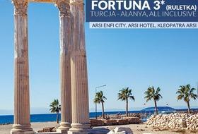Hotel Fortuna 3* na Riwierze Tureckiej