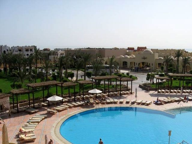 Widok na basen hotelu Grand Plaza (Sharm El Sheikh)
