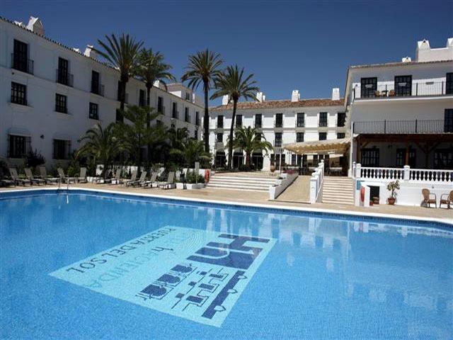 Hotel hacienda puerta del sol w mijas andaluzja hiszpania - Hotel puerta del sol mijas ...