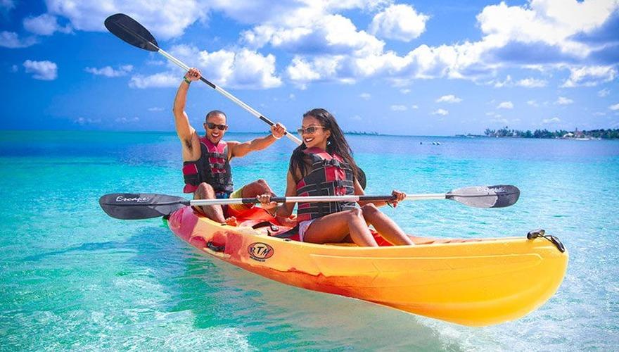 Breezes hotel in bahamas swinging