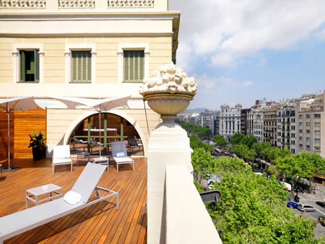 hotel eurostars bcn design w barcelonie katalonia hiszpania. Black Bedroom Furniture Sets. Home Design Ideas