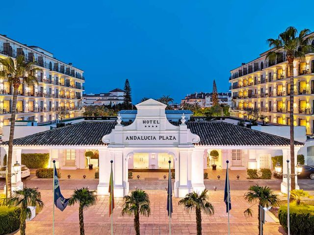 Zdj cia hotelu h10 andalucia plaza w marbelli costa del - Hotel h10 andalucia plaza marbella ...