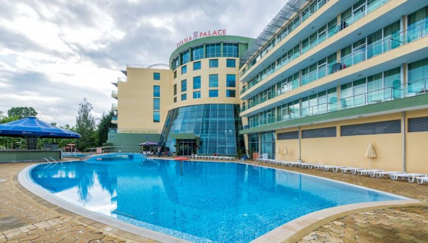Ivana Palace W Słonecznym Brzegu Riwiera Bułgarska Bułgaria