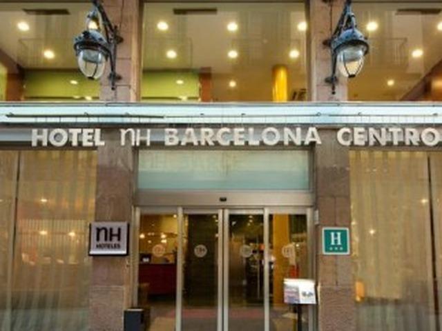 Hotel nh barcelona centro w barcelonie katalonia hiszpania for Barcellona hotel centro economici