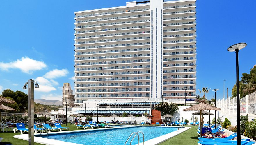 Poseidon playa w benidorm costa blanca hiszpania for Hotel poseidon playa