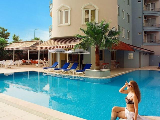 hotel vital beach w konakli riwiera turecka turcja. Black Bedroom Furniture Sets. Home Design Ideas