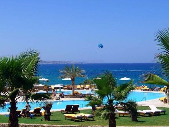 Ikaros Beach Luxury Resort Spa Haupthaus