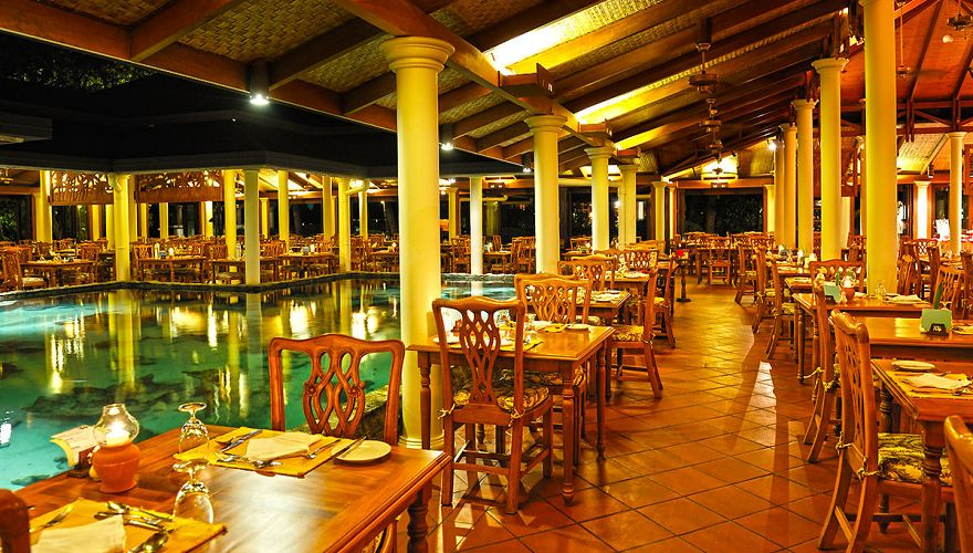 Restauracja w hotelu Royal Island Resort & Spa