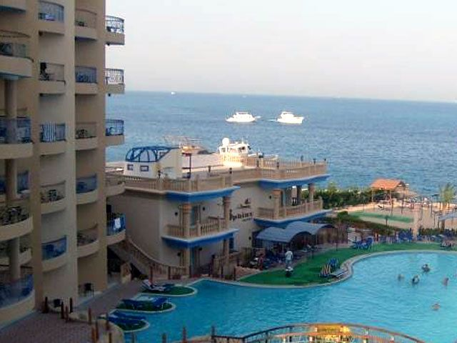 Sphinx Resort - basen hotelowy