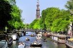 Amsterdam, największe miasto Holandii
