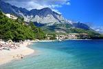 Plaża w Baska Voda (Wybrzeże Dalmatyńskie)