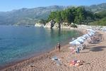 Plaża w Budvie - Czarnogóra