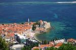 Widok na Stare Miasto w Budvie (Czarnogóra)