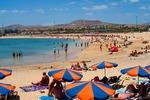 Plaża w Caleta de Fuste (Fuerteventura)