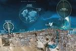 Mapa Dubaju