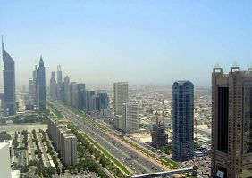 Sheikh Zayed Road - Dubaj
