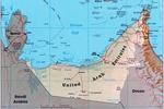Mapa Emiratów Arabskich