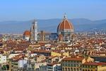 Florencja, w tle Dzwonnica Giotta oraz Katedra Santa Maria del Fiore