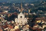 Florencja, widok na kościół Santa Croce