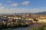 Widok na Florencję, stolicę Toskanii