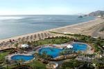 Plaża przy jednym z hoteli w Fujairah