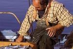 Rybak w Grecji