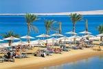 Plaża hotelowa w Hurghadzie (Egipt)