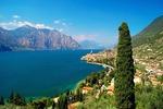 Miasteczko Malcesine nad jeziorem Garda (Włochy)