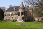 Zamek w Keukenhof - Holandia