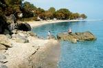 Kokino Nero, mała ale malownicza miejscowość turystyczna na Riwierze Olimpijskiej (Grecja)