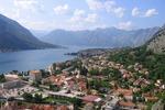 Widok na Kotor i Bokę Kotorską (Czarnogóra)