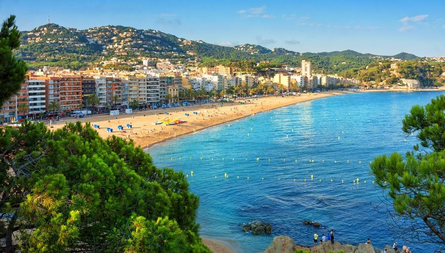acapulco w lloret de mar costa brava hiszpania. Black Bedroom Furniture Sets. Home Design Ideas