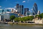 Słynne City w Londynie (Wielka Brytania)