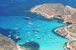 Błękitna Laguna - cieśnina na Malcie, między wyspami Comino i Cominotto