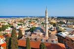 Stare Miasto Rodos, z widocznymi elementami z czasów panowania tureckiego