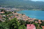 Widok na Ochrydę - Macedonia
