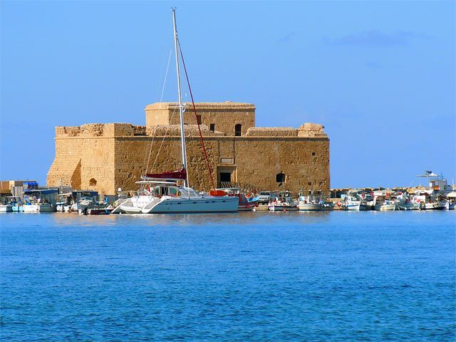 Stary fort w Kato Paphos