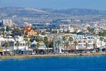 Widok na Paphos, czwarte największe miasto Cypru