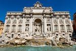 Fontanna do Trevi, najbardziej znana barokowa fontanna Rzymu