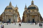 Piazza del Popolo (Plac Wszystkich Ludzi) w Rzymie