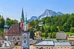 Widok na Stare Miasto w Salzburgu