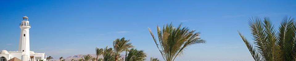 Promenada nadmorska w Sharm El Sheikh