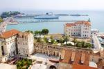 Port w Splicie - Chorwacja