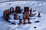 Stonehenge zimą