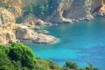 Południowe wybrzeże Thasos