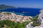 Widok na Limenas (Thassos), największe miasto wyspy