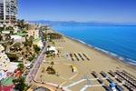 Plaża Costa del Sol w Torremolinos