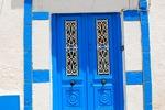 Tradycyjne niebieskie drzwi w Sidi Bou Said (Tunezja)